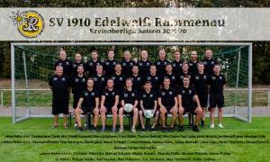 Mannschaftsfoto SV Edelweiß Rammenau Polos